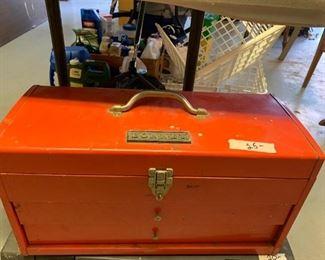 #168Bonney 2 drawer w/lift up Top Tray  $25.00