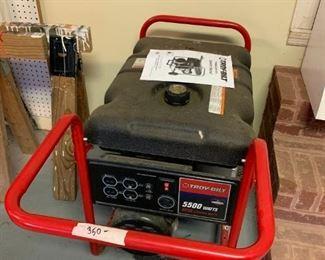 #170TroyBilt (runs) 5500Watt  8250 Starter Watts  $350.00