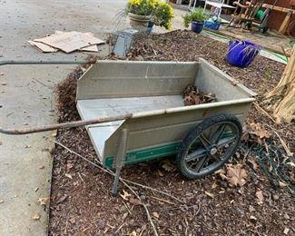 #173Fold-It metal cart $30.00