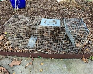 #176Racoon Trap $20.00