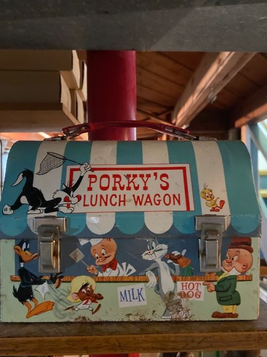 Porky's Lunch Wagon Lunchbox