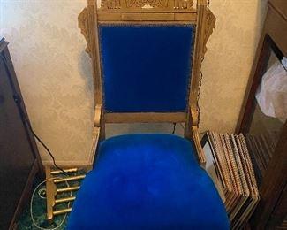 Vintage Armless Chair