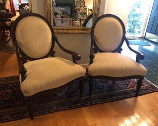 2 Bernhardt chairs $300