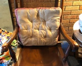 Vintage rocking chair- pad included