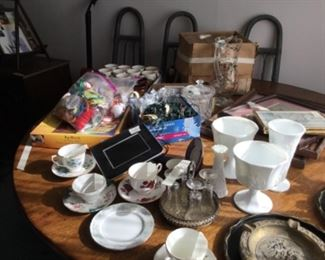 More items in dining table