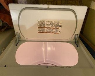 Whirlpool dryer - door open