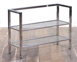 """32X12"""" Stainless Steel Under Vanity Storage Shelf"""