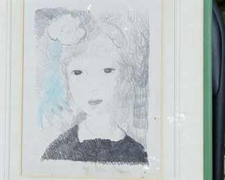 Marie Laurencin lithograph