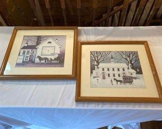 2 Charles Wysocki Prints