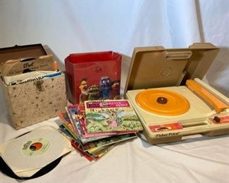 1978 Fisher Price Record Player