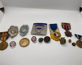 Medals and Pins
