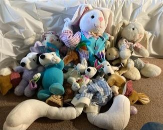 Stuffed Animal Lot II