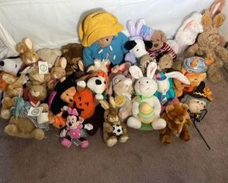 Stuffed Animals Lot III