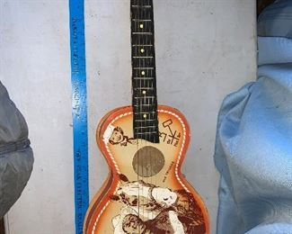Roy Rogers Guitar $24.00