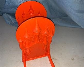 Red Castle Bookends $8.00