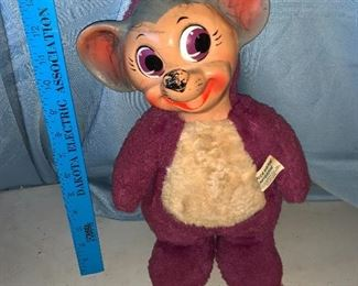 Quick Draw McGraw Doll Blabber Mouse $68.00