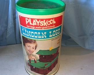 Playskool Lincoln Logs Explorer Set $10.00