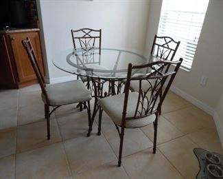 Dinette Set, with 4 chairs