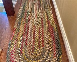 Hoop rug runner