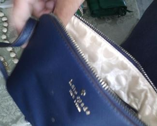 Kate Spade. Has small mark on front of bag. Good used condition. $75