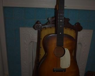 Vintage Harmony Guitar with Steel Reinforced Neck in Beautiful Condition!