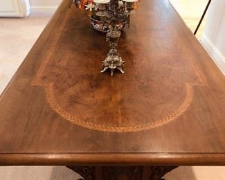 Fabulous Tuscan library table