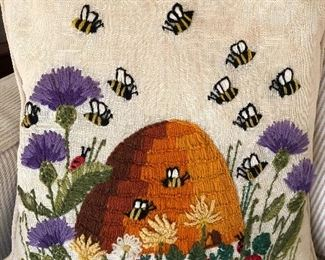 Honeybee pillow!