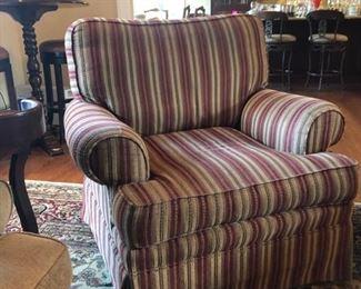 Pair Thomasville swivel chairs