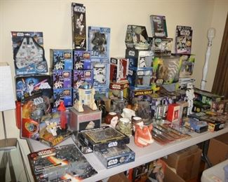 LARGE collection of Star Wars