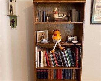 Bookcase oak $60