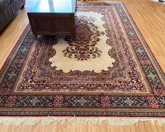 "$120 - carpet Indian style 78"" x 114"""