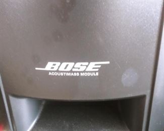 GREAT BOSE SUBWOOFER,  SPEAKERS, DVD HOME ENTERTAINMENT SYSTEM ~ 321 GS SERIES II