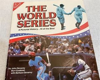 "The World Series pictorial history by Nabisco, ""1981"". $8"