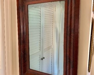$150 - Antique mirror 35 in. (H) x 24 in. (W) x 1 1/2 in. (depth)
