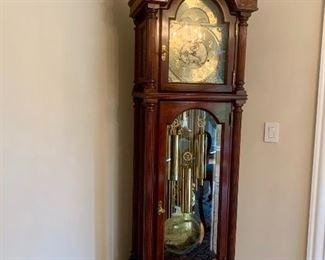 "Sligh grandfather clock (#821629558467) 7'3"" tall"