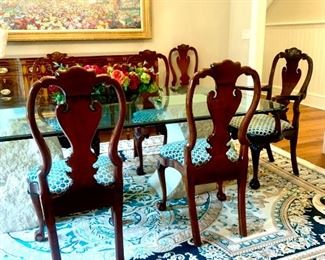 Kindel Winterthur Collection dining room chairs, set of 8 (includes 2 arm chairs)