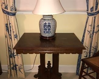 Victorian Eastlake occasional table