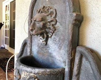 Outdoor Wall Fountain for Sale!