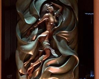 """Mystery""   Artist:  Bill Mack  Medium: Bonded Bronze  67/95"