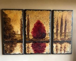 """Reflections""  Artist: Rolinda Stotts  48"" x 75"""