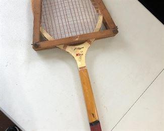 Vintage sports equipment......