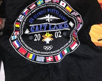 Uniforms and collectibles from the 2002 Olympics.....