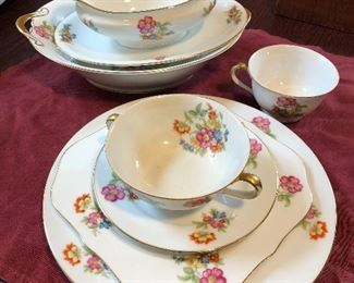Imperial china - service for 12!