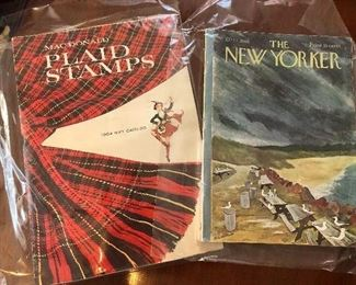Vintage magazines.....