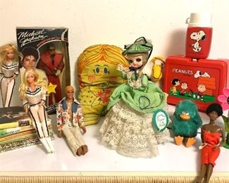 Misc 70s Kitsch, Dolls, Etc