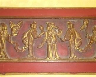 Chinese wood carving  14/6in  50.00