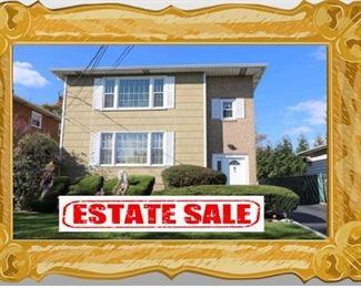Estate Sale ~ 317 Terrace Ave. Hasbrouck Heights, NJ