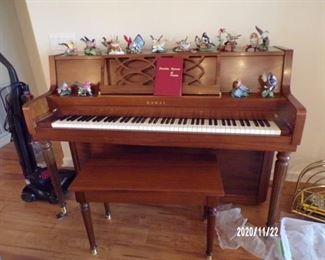 Kawai piano & stool