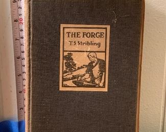 Vintage 1931 Vintage Hardcover Book 1st Edition The Forge by T.S. Stribling in fair condition - $60 Photo 1 of 3