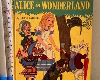 Vintage 1951 Hardcover Book: Adventures From the Original Alice in Wonderland - $5 Photo 1 of 3